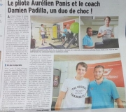 Article Le Dauphiné 23-06-2016 -